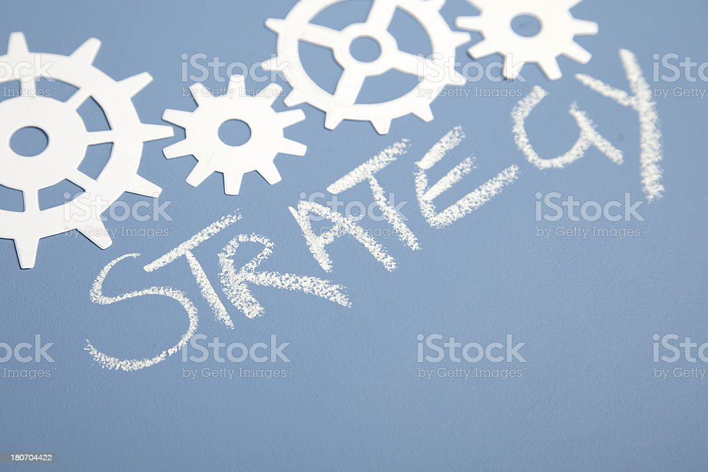 Strategy royalty-free strategy stock vector art & more images of attached