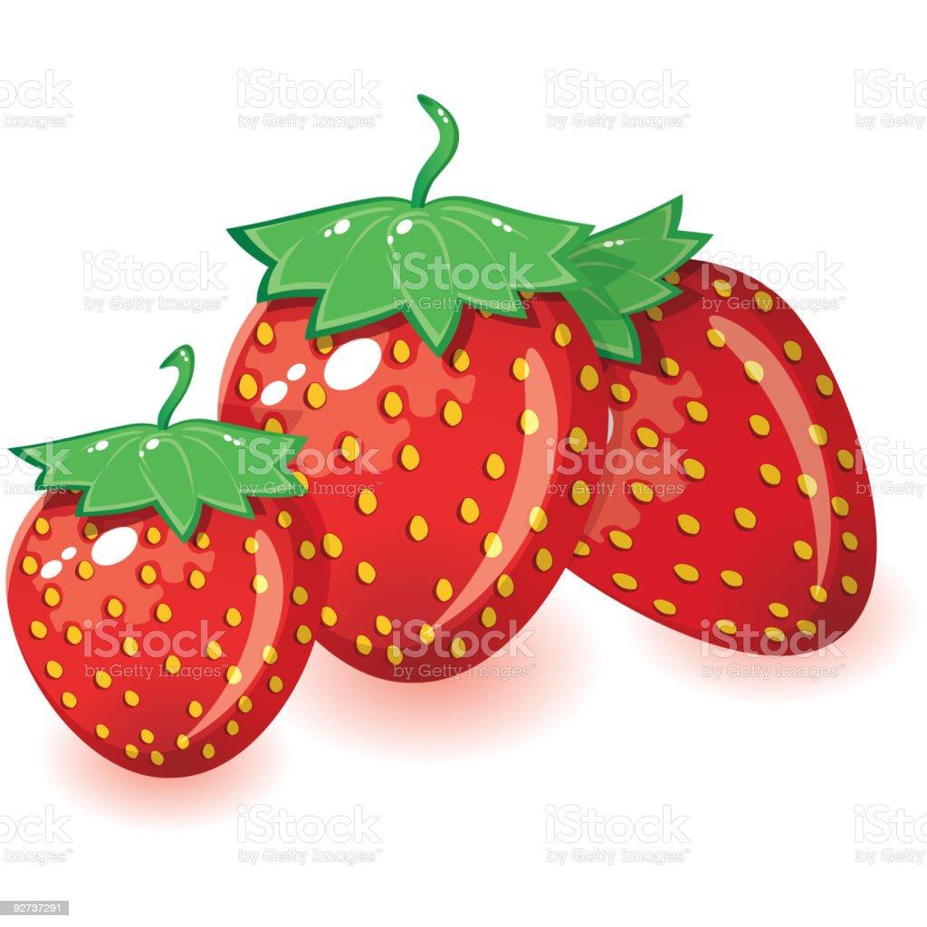 Erdbeeren Lizenzfreies erdbeeren stock vektor art und mehr bilder von abnehmen