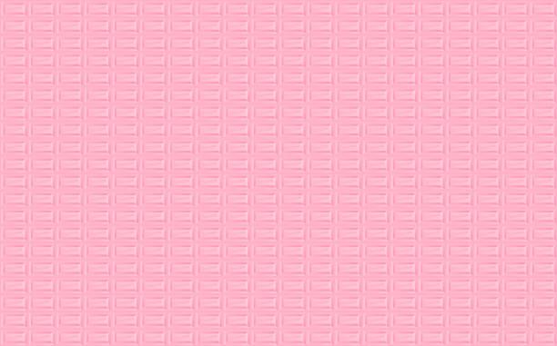Strawberry chocolate seamless pattern vector art illustration