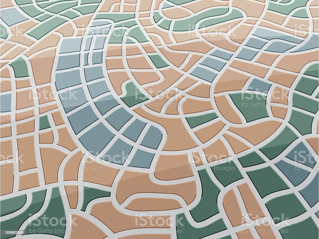 Street Map City royalty-free stock vector art
