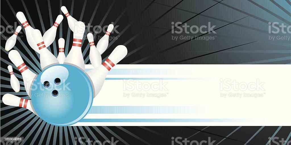Strike! vector art illustration