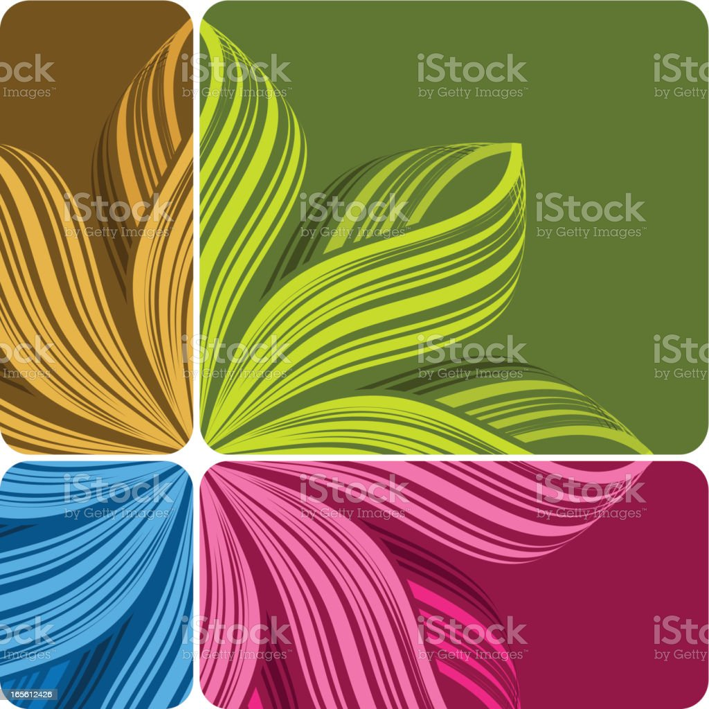 Striped  background royalty-free stock vector art
