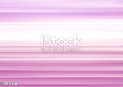 832048182 istock photo Striped background with magenta, pink, white soft blurred gradient. Abstract glowing pattern. Horizontal template with copy space for contemporary design concepts and ideas 1087113128