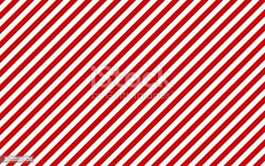 Classic background: Red and white diagonal stripes