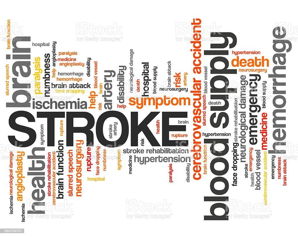 Stroke vector art illustration