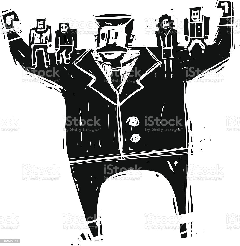 Strong Boss royalty-free strong boss stock vector art & more images of adult