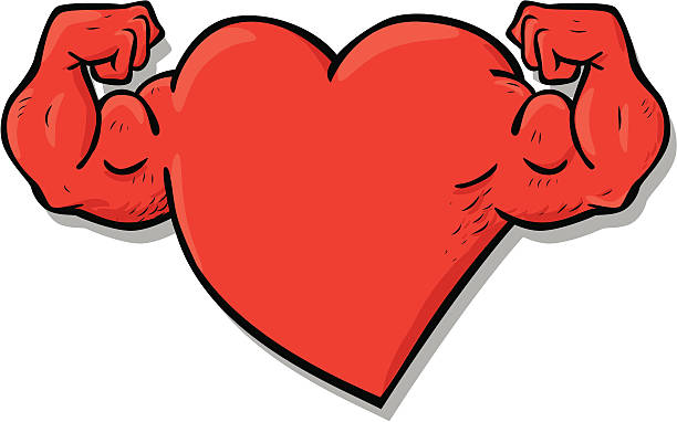 Royalty Free Strong Heart Clip Art, Vector Images ...