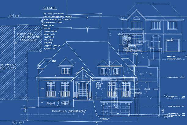 구조적 이미지 x01 - 설계도 stock illustrations