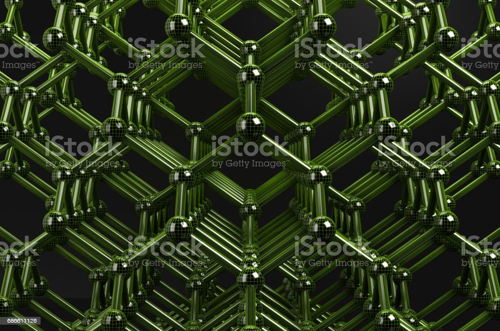 structure molecule wireframe green 3d rendering royalty-free structure molecule wireframe green 3d rendering stock vector art & more images of abstract