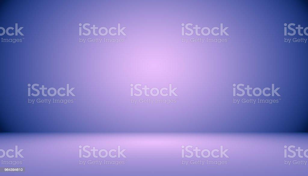 Estúdio base conceito - abstrato vazio luz gradiente roxo studio quarto fundo para o produto. - Ilustração de Branco royalty-free