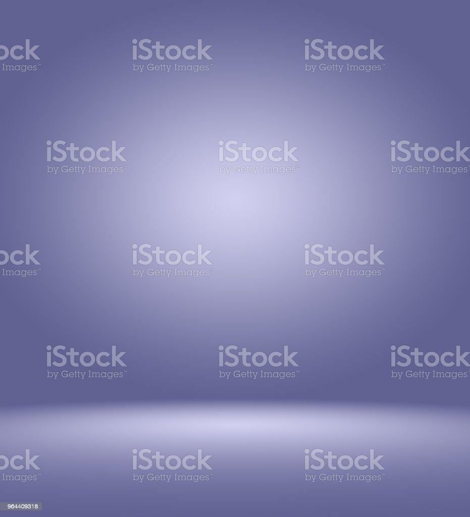 Studio Background Concept - abstract empty light gradient purple studio room background for product. - Royalty-free Archival stock illustration