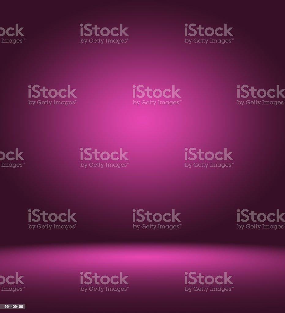 Studio achtergrond Concept - abstracte leeg licht verlopende paarse studio kamer achtergrond voor product. - Royalty-free Achtergrond - Thema Stockillustraties