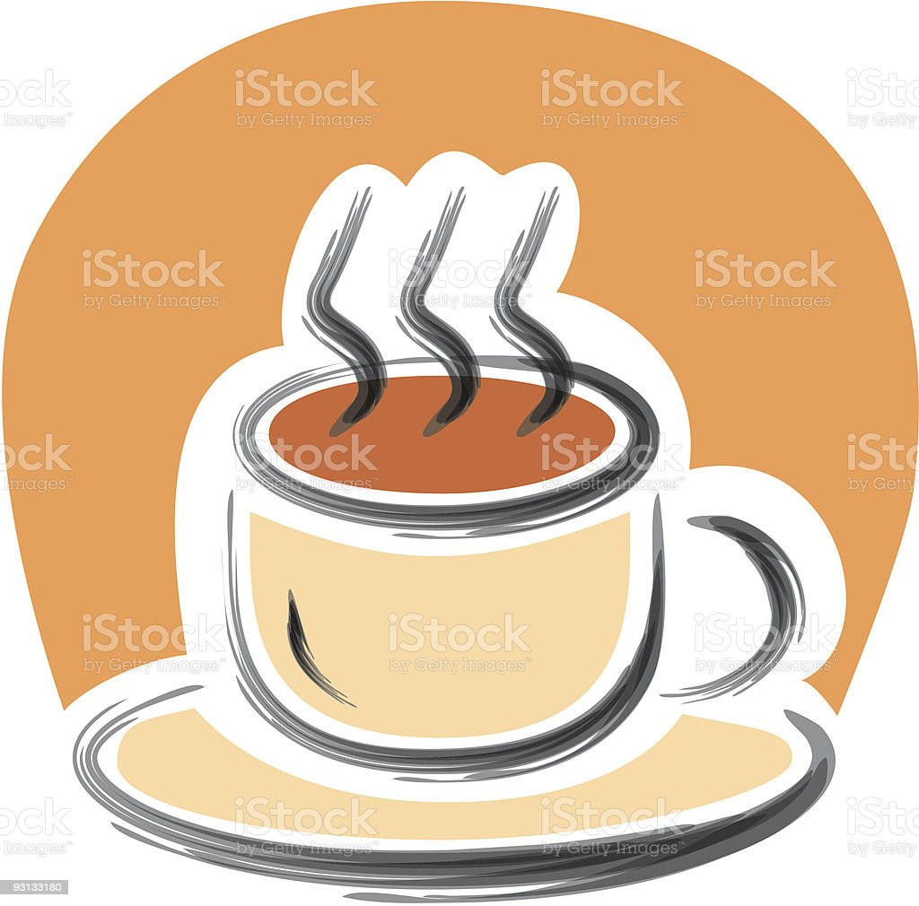 Stylized coffee cup royalty-free stylized coffee cup stock vector art & more images of arabia