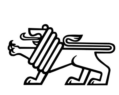 Stylized Lion
