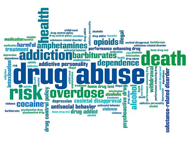 bildbanksillustrationer, clip art samt tecknat material och ikoner med substance abuse word cloud colors - amfetamin