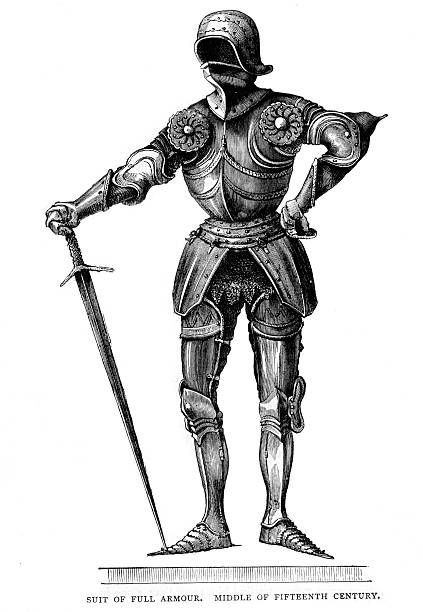 Royalty Free Knight Armor Clip Art, Vector Images