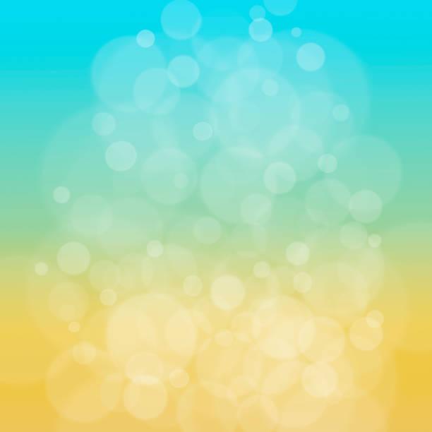 bildbanksillustrationer, clip art samt tecknat material och ikoner med sommaren abstrakt blå gul bakgrund. - gul bakgrund