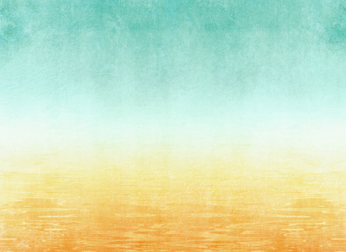 Summer background with abstract beach texture in watercolor style - vacation concept