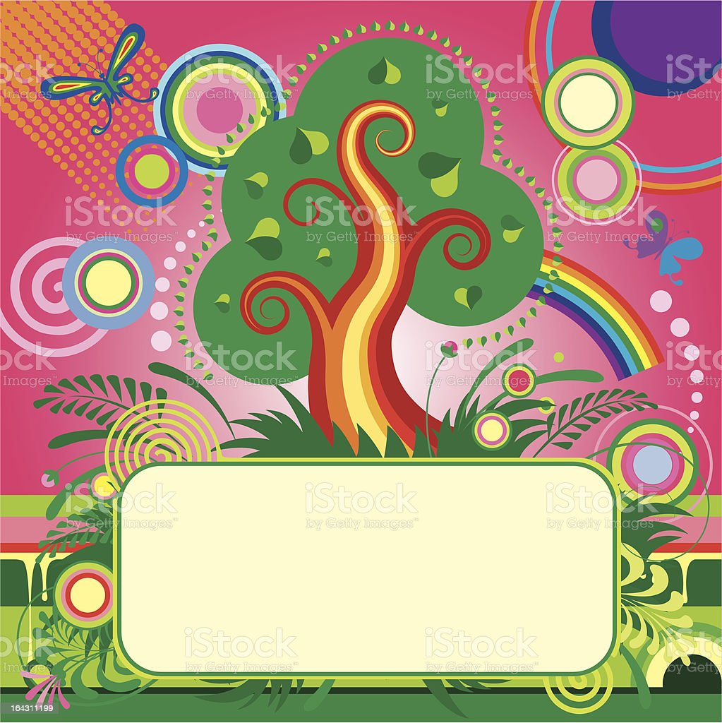 Summer banner and background royalty-free stock vector art