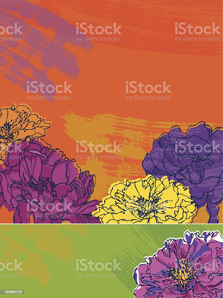Summer Floral Banners royalty-free summer floral banners stock vector art & more images of abstract
