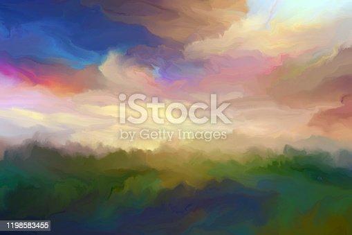 istock summer foggy dawn 1198583455