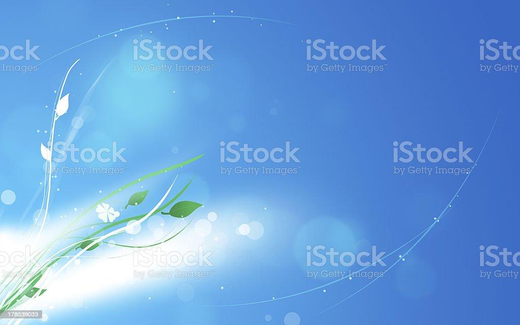 Summer Fresh Floral royalty-free stock vector art