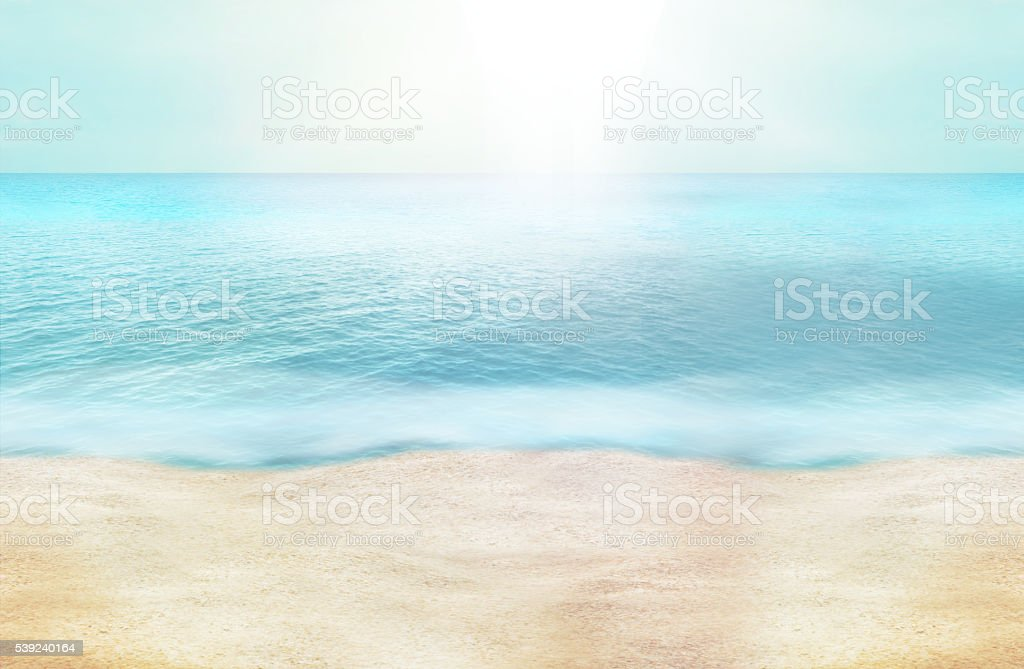 summer time paradise photo and 3D render background design royalty-free summer time paradise photo and 3d render background design stock vector art & more images of backgrounds