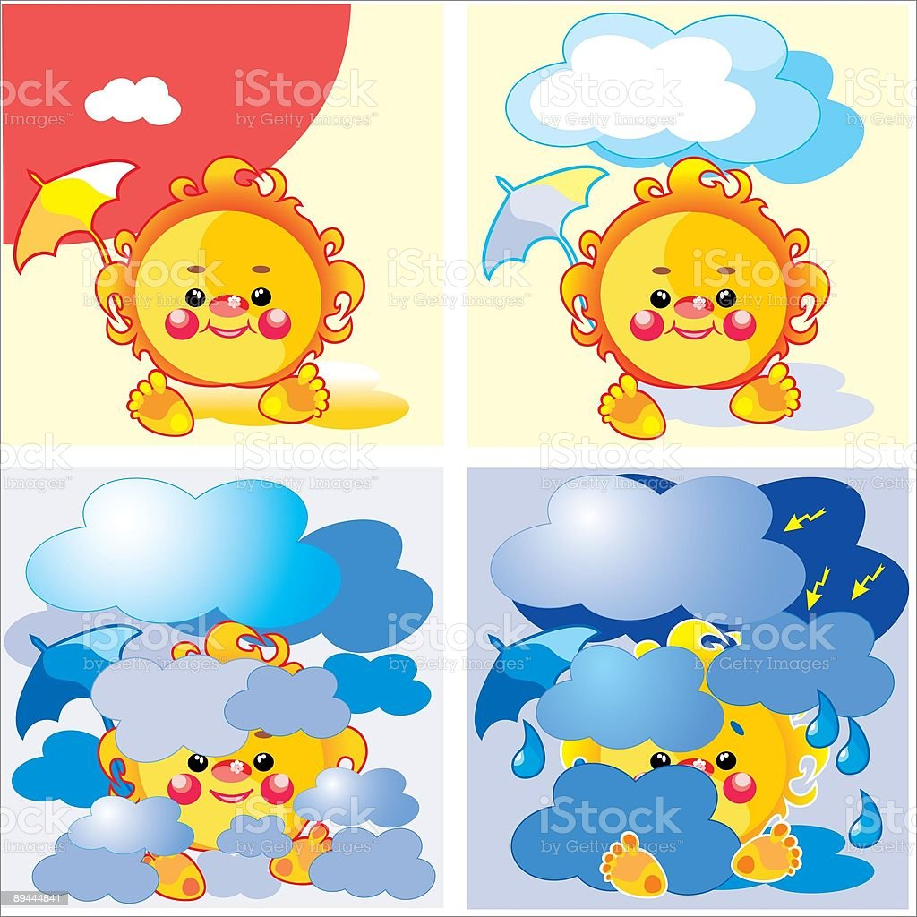 summer weather royalty-free stock vector art