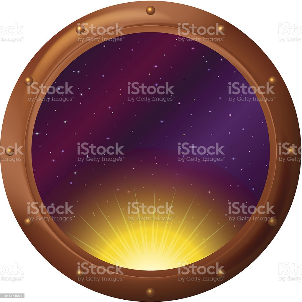 Sun and space in window royalty-free sun and space in window stock vector art & more images of abstract