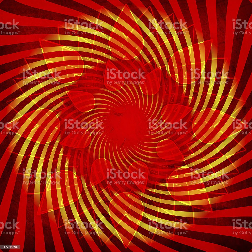 Sun grunge background royalty-free stock vector art