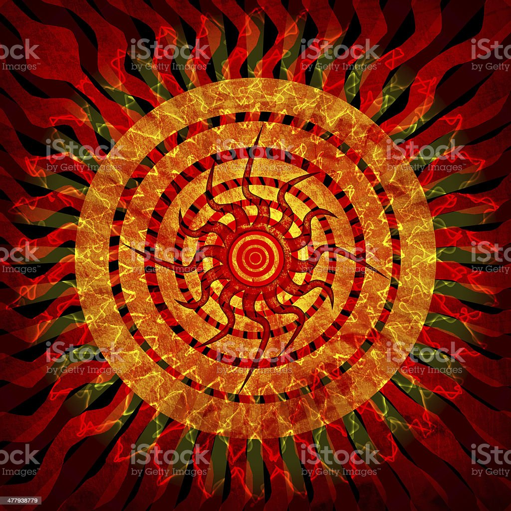 Sun grunge background royalty-free sun grunge background stock vector art & more images of abstract