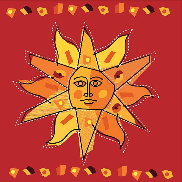 ilustraciones, imágenes clip art, dibujos animados e iconos de stock de sol personified. - tintanegra00