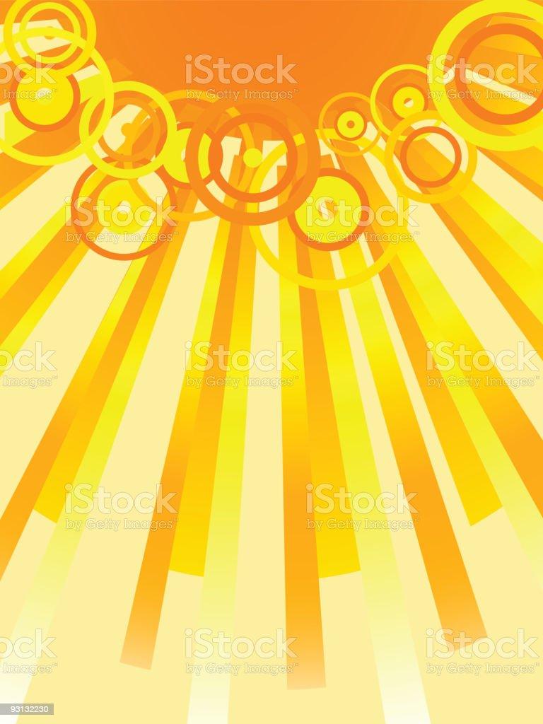 Sun. [Vector] royalty-free stock vector art