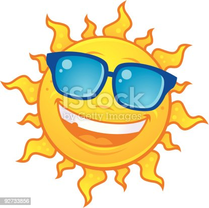 istock Sun Wearing Sunglasses 92733856