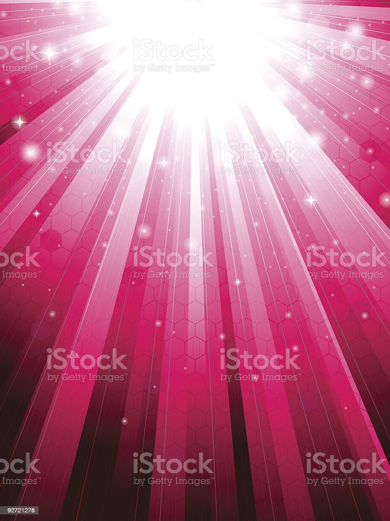 Sunbeam background royalty-free stock vector art