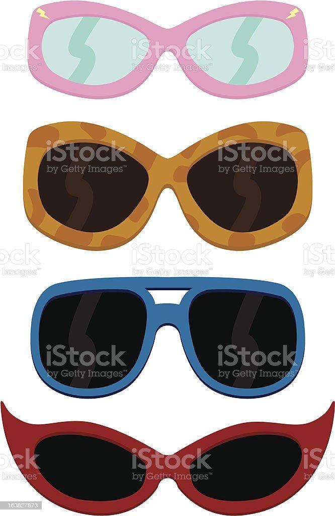 Gafas De Sol - Arte vectorial de stock y más imágenes de Azul ...