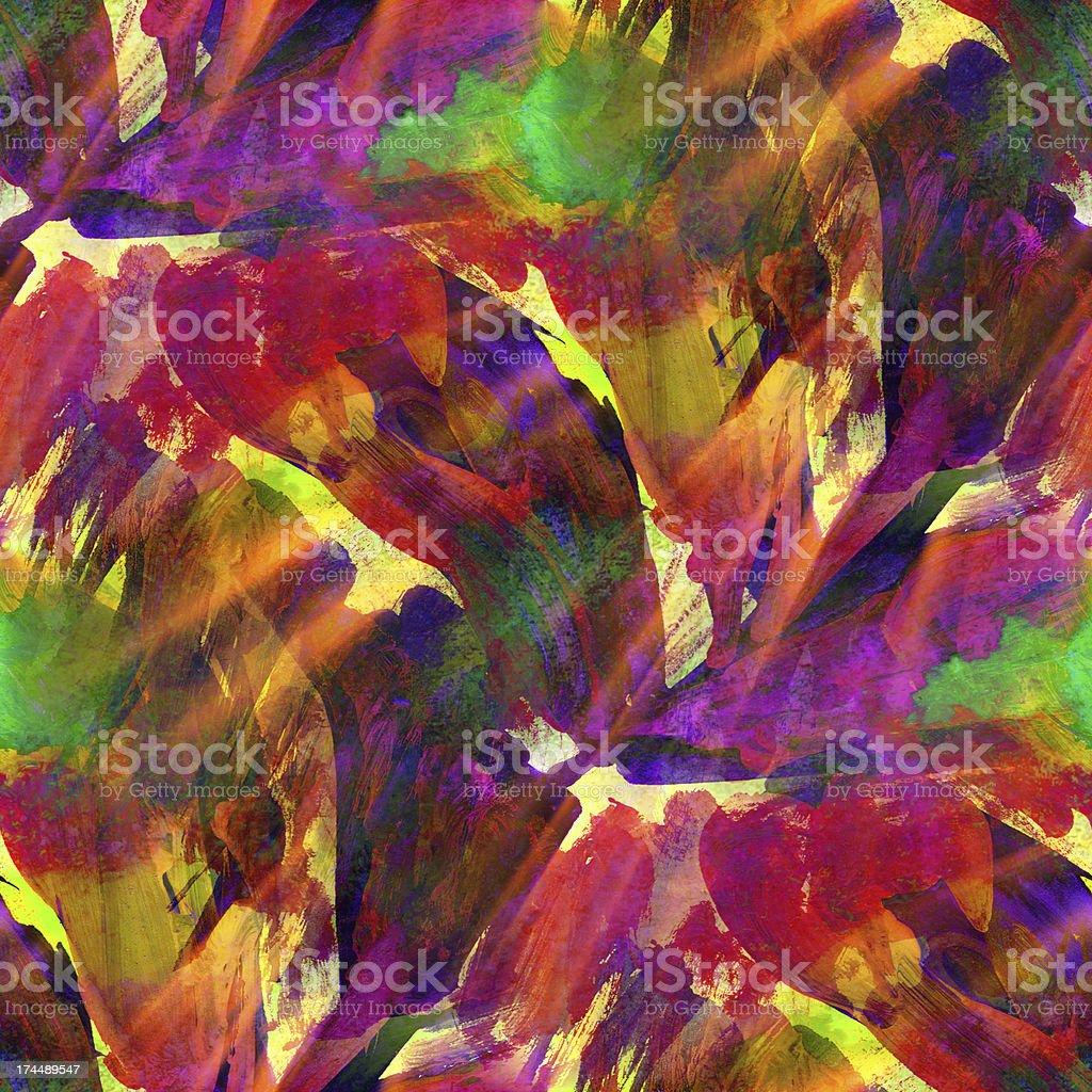 Lumière Du Soleil Sans Couture De Peinture Aquarelle Rouge Violet ...
