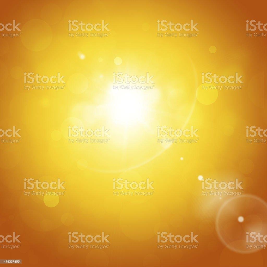 Sunny Brightness vector art illustration
