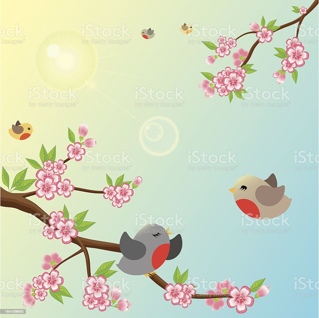 Sunny Morning royalty-free stock vector art