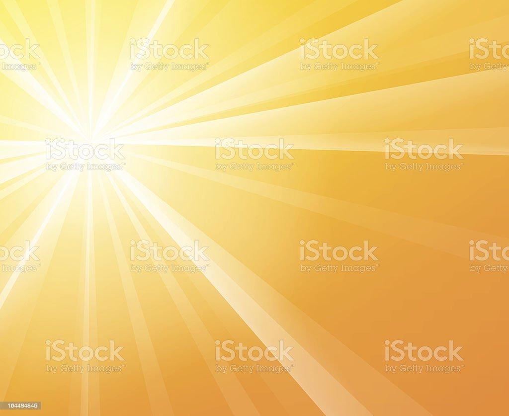 Sunny Sunshine vector art illustration