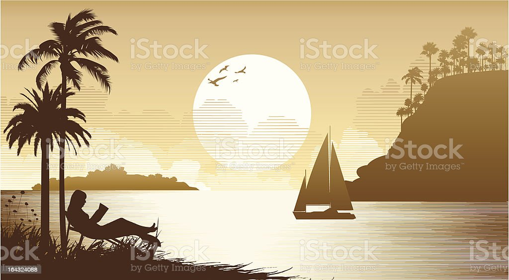 Sunset royalty-free sunset stock vector art & more images of beauty in nature