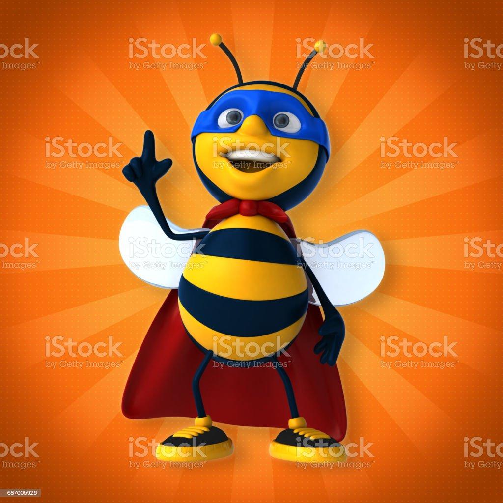 Super bee Lizenzfreies super bee stock vektor art und mehr bilder von biene