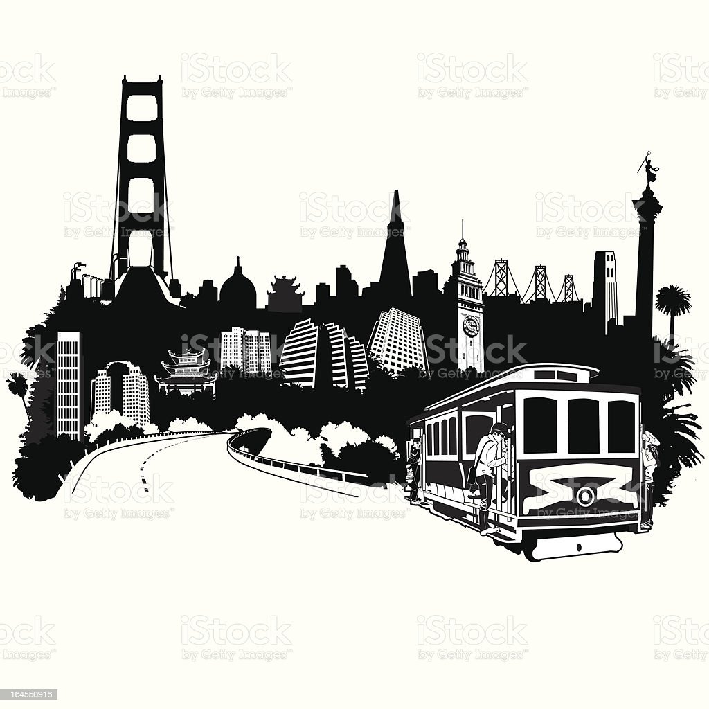 SF Superscape royalty-free sf superscape stock vector art & more images of architecture