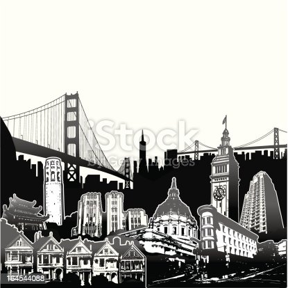 Montage of SF architecture