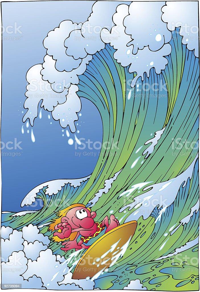 surfer Lizenzfreies surfer stock vektor art und mehr bilder von brandung