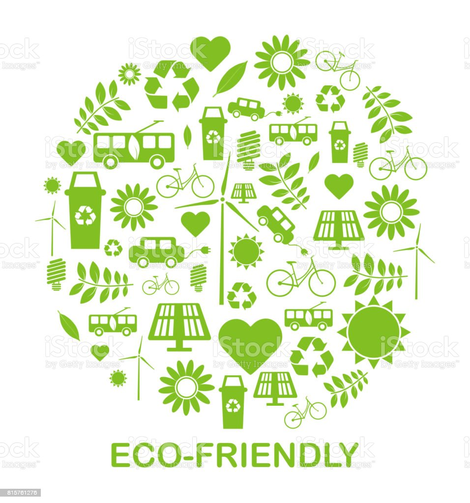 Sustainability ecofriendly symbols recycling and green energy sustainability eco friendly symbols recycling and green energy royalty free sustainability ecofriendly biocorpaavc