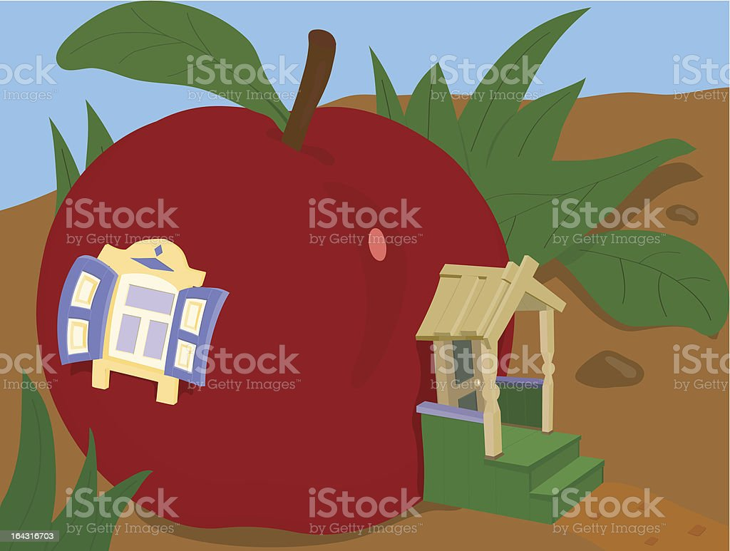 sweet home royalty-free stock vector art