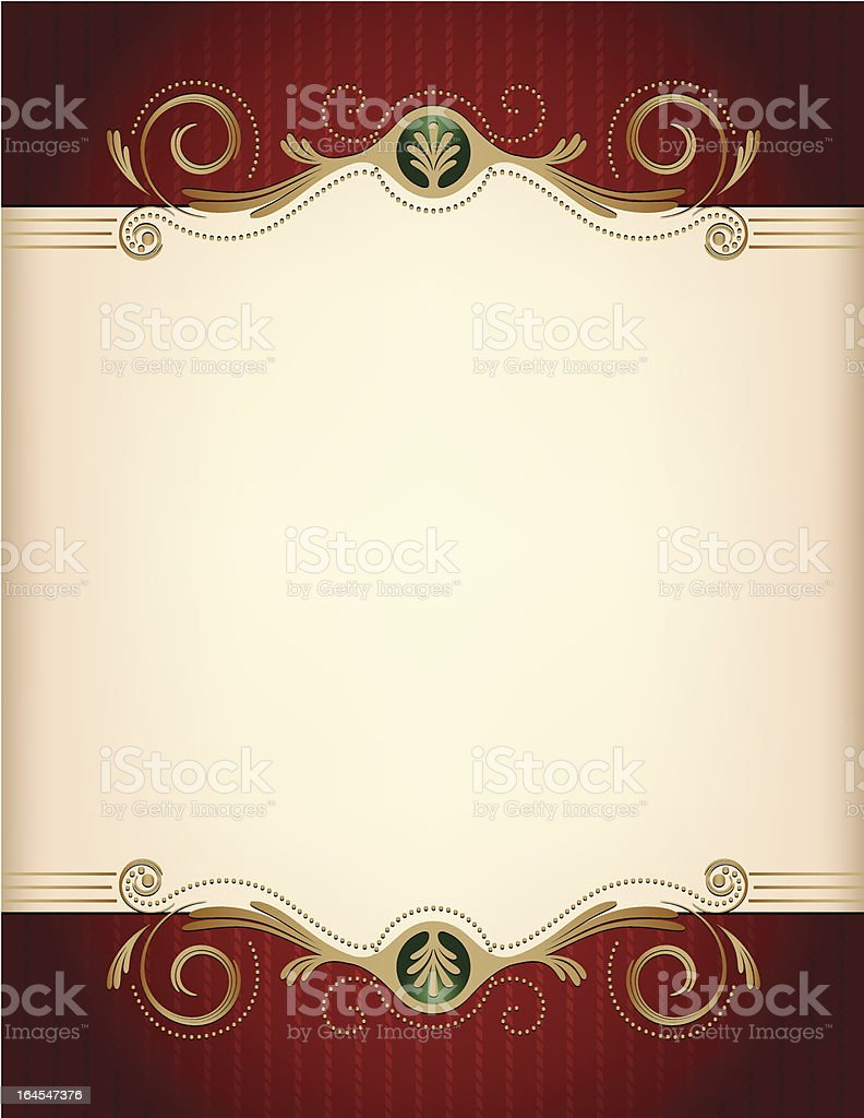 Sweet Sadie Frame royalty-free stock vector art