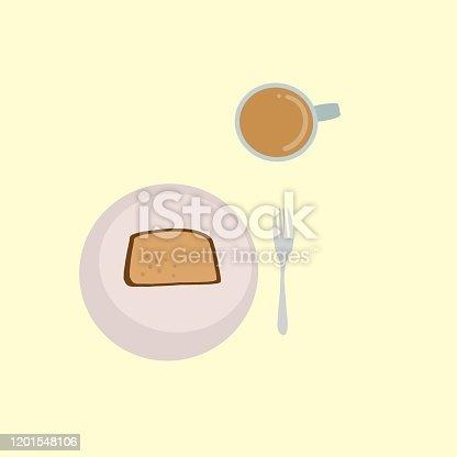 coffee, sweets, cake, cafe, pound cake, strawberry, lemon cake, tart, fork, mug.