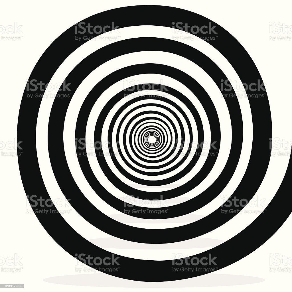 swirl background vector art illustration